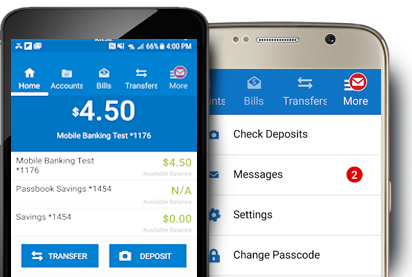 Regal Bank's Mobile banking App