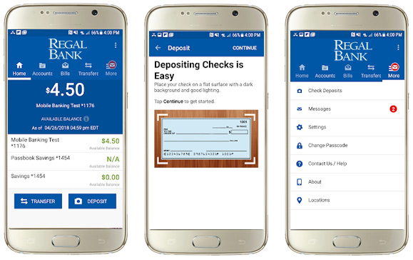 Regal Bank Mobile Banking App